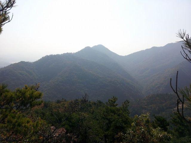 The view from Daeduk Peak.