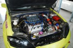 Turbo 2.7L Delta engine in Hong Sa-gul's Tuscani.
