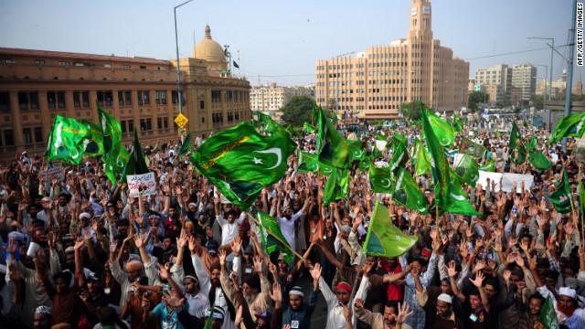 Pakistani Protests