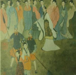 Sun Tzu Training the Concubine Army