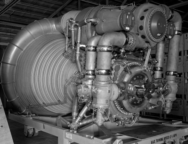 F-1 engine. REF# 3-1324-3 (MIX FILE)